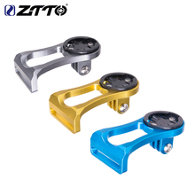 ZTTO Out-front Bike Mount For Garmin Cat Eye Bryton Bicycle Computer GPS GoPro Sports Camera Light Holder Handlebar Extension