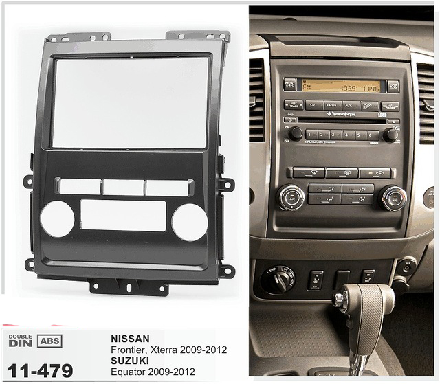 11 479 car radio dash cd panel for suzuki equator 2009 2012 nissan frontier xterra stereo fascia