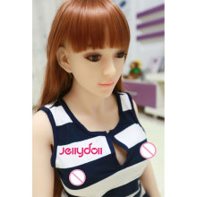 135 cm customized sex doll,silicone love doll,small sex mannequin,real vagina,anal,oral,3-holes adult toys,metal skeleton