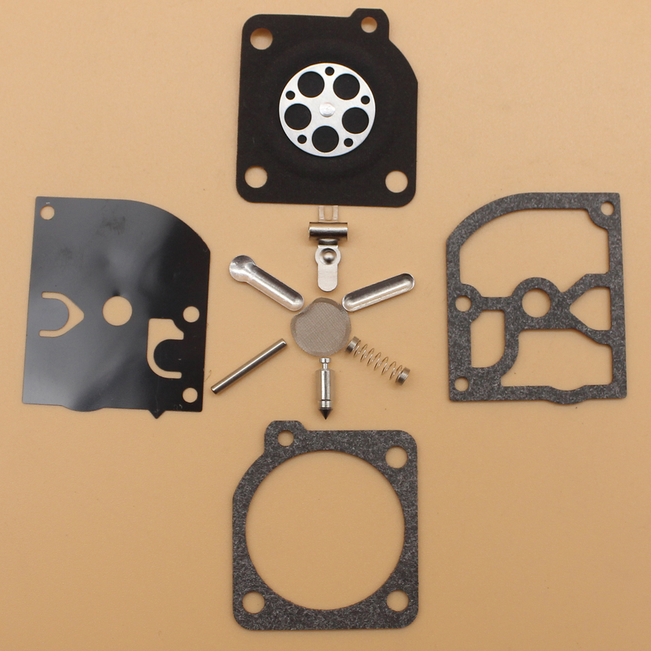 2Pcs/lot Carburetor Repair Kit For HUSQVARNA 136 137 141 142 334T 338 XPT Replace ZAMA RB-137 Carb Diaphragm Spare Parts