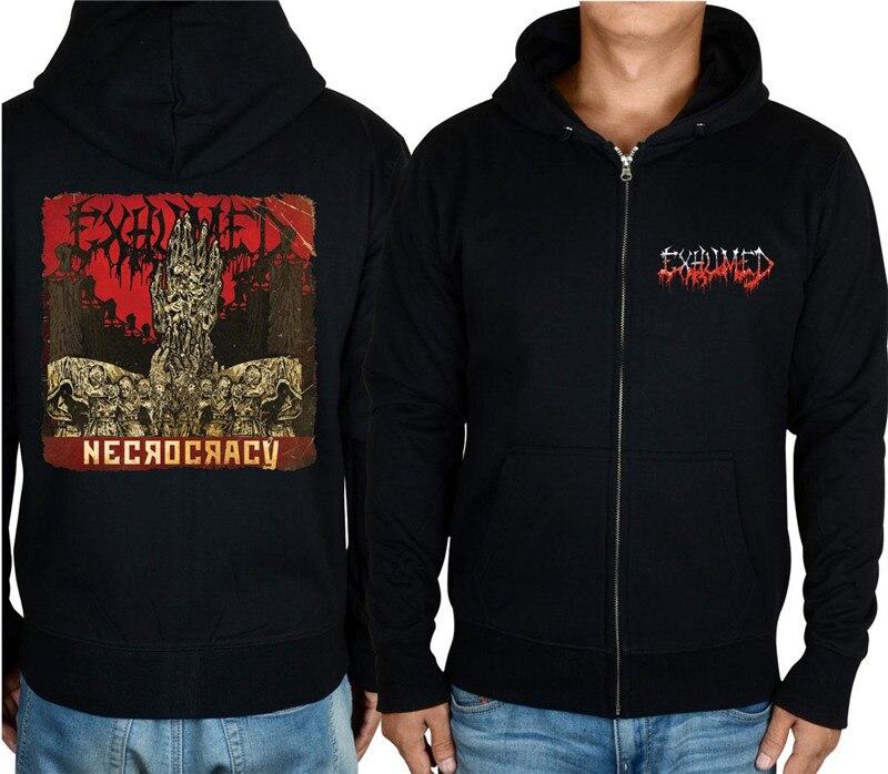 11 видов конструкций на молнии Exhumed Rock hoodies оболочка куртка 3D бренд панк Темный металлический Свитшот saw sudadera спортивная одежда - Цвет: 1