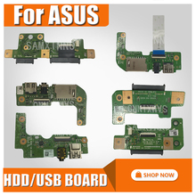 Pour For Asus X555DG X555D X555QG X555Q X555YI X556U X556UJ X556UV X555U X555UJ carte disque dur carte USB IO carte AUDIO