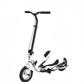 TARCLE 10 pouces Air roue pédale pli Scooter Fitness pas à pas carbone balançoire Scooter avec double pédale Action