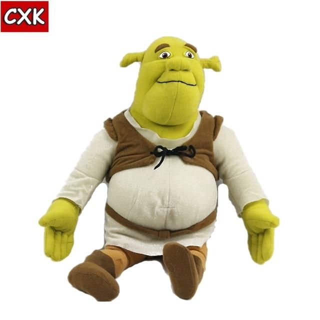 Peluche Shrek poupée en peluche 40cm, jouets pour films TV, DSN, jeu de noël pour enfants