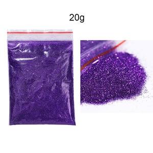 Image 3 - 20/5G Shiny Nail Poeder Laser Glitter Pailletten Shimmer Nail Art Decoratie Benodigdheden