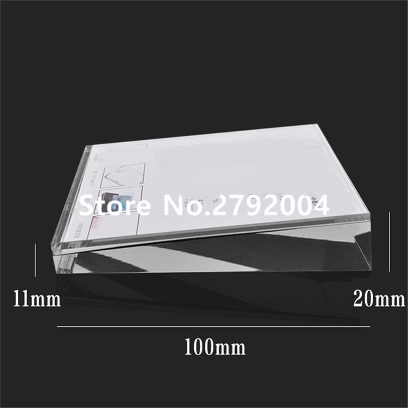 10pcs/lot Factory Supply Acrylic Photo Frame Phone Price Display Tag Display Block For Store 10*10cm пилочка для ногтей leslie store 10pcs lot