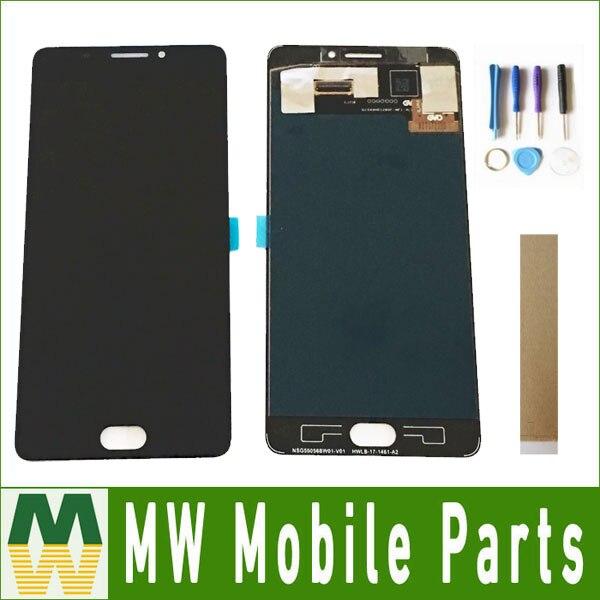 D'origine Qualité 1 pc/lot 5.5 Pour Vernee Thor Plus Ecran LCD + Écran Tactile Digitizer Assemblée Noir Couleur avec bande et Outils