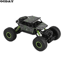 RC Car 2.4G 4CH 4WD Rock Crawlers Driving Car Double Motors Drive Bigfoot Remote Control Car Model Off-Road Vehicle Toy EU Plug