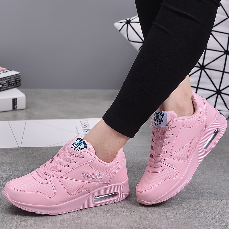 MWY Winter Fashion Women Casual Shoes Leather Platform Shoes Women Sneakers Ladies White Trainers Light Weight Chaussure Femme 1