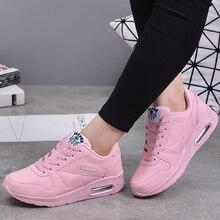 MWYฤดูหนาวแฟชั่นผู้หญิงสบายๆรองเท้าหนังรองเท้าผู้หญิงรองเท้าผ้าใบผู้หญิงสีขาวTrainers Lightน้ำหนักChaussure Femme