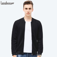 Hot Sale 2016 New Fashion Brand Jacket Men Clothes Baseball Collar Trend Slim Fit High Quality