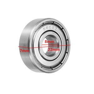 1 шт. Новый Прочный 8x22x7 мм 608Z шариковый подшипник из нержавеющей стали для ручного спиннинга