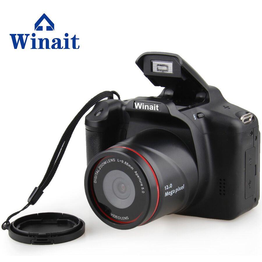 2017 Cheap Camera 32GB HD720P12MP professional dslr camera 4X Digital  Zoom Telescopic lens Freeshipping camera Fotografica-in Consumer Camcorders from Consumer Electronics on AliExpress