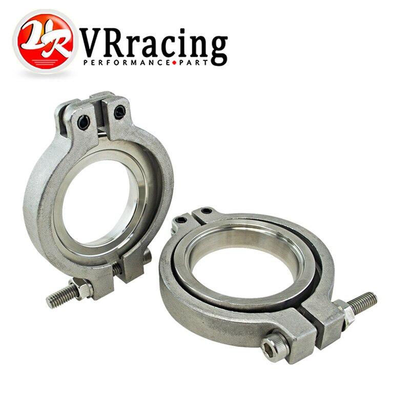 VR RACING -  V Band Flang/Clamp Set For MVS 38mm WASTEGATE V- Band Kit VR5831FC