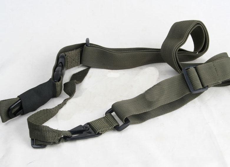 Taktik üç nöqtəli tənzimlənən Silah Sling Strap System 3 - Ovçuluq - Fotoqrafiya 4