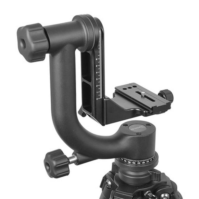 Benro GH2 Professional Aluminum Gimbal Heads For Heavy Telephoto Lenses Camera Tripod Max Loading 25kg