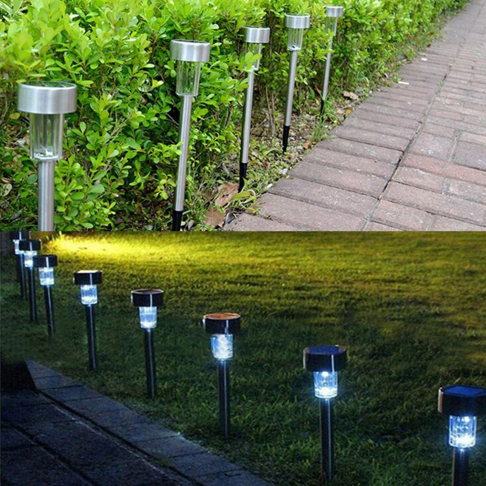 10pcs solar led tuinverlichting outdoor lighting lawn lights garden lamp antorcha para jardin luminaire pelouse lampe solaire in led lawn lamps from lights - Luminaire Jardin