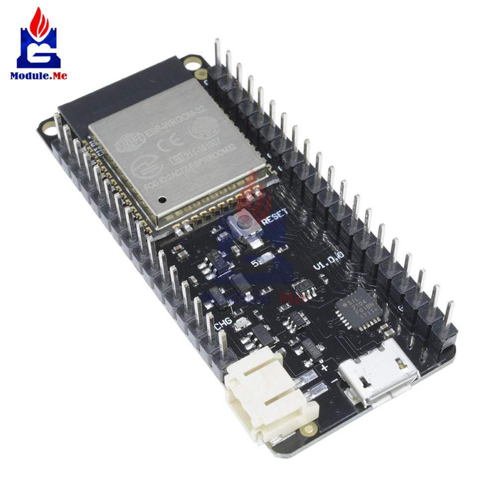 4MB Flash WIFI Bluetooth Wireless Card Based Board ESP-32 ESP32 ESP32S ESP-32S Dual Core Mode CPU Module Micro USB 500mA