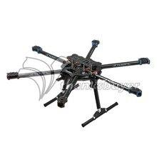 Tarot FY680 TL6801 3 K Pure Carbon Fiber Completo Plegable Hexacopter 680mm FPV Aviones