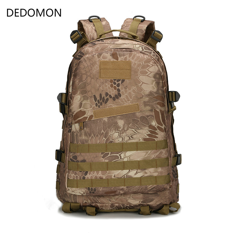 2018 40L 3D Outdoor Sport Military Tactical Backpack 600D Nylon Camping Hiking Trekking Travel Bags Cycling Climbing Sport Bags цена