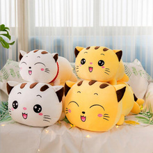 New Style Smiling Cats Plush Toy Stuffed Animal Doll Soft Plush Pillow Children Birthday Gifts new arrival simulation ladybug plush toys stuffed animal doll toy plush pillow cushion children birthday gifts