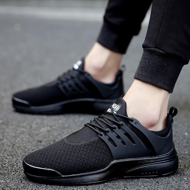 Latest Outdoor font b Running b font font b Shoe b font Men s Sneakers Flynitlys