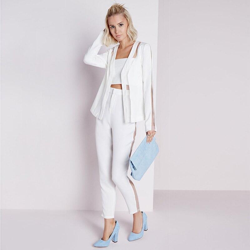 Traje chaqueta blanco