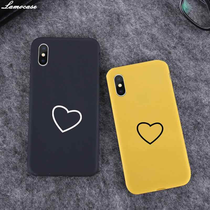 Trái Tim Kẹo Dẻo Silicone ICase Color Dành Cho Samsung Galaxy A50 A30 A40 A10 A20 A70 M10 M20 M30 A7 A8 J6 j8 2018 A750 A80 J4 Plus A10S