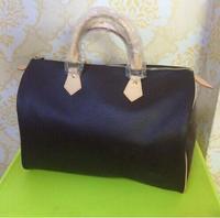 Hot selling !!! 2018 WOXK new fashion high quality PU women handbag speedy bag 30/35cm FREE SHIPPING