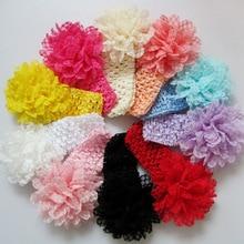 Free Shipping Children / Baby Hairband Girls Hair Accessories Baby Girl Flower Headband Infant Hair Weave Band