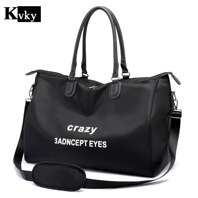 New Women Large Travel Bags Ladies Nylon handbag Lady Shoulder Bag Big Weekend Girls Shopping Bags Female Travelling Pack polo authentic golf standard packages bag pulley drawbars travel professional lady rod bag standard cue packages nylon with pu