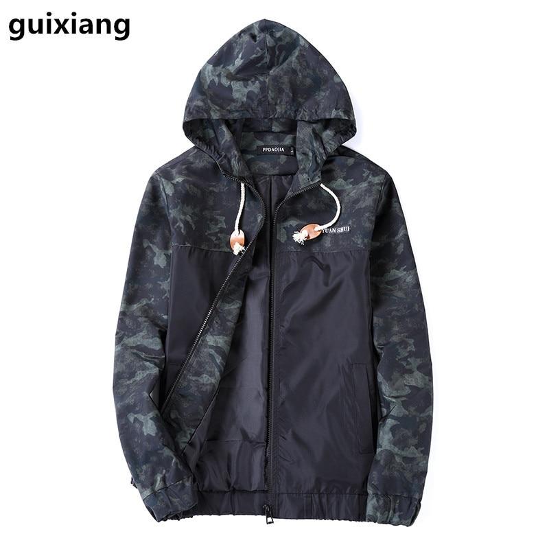 2017 Высокое качество Мужчины Куртка На Открытом Воздухе мужская Slim Fit Куртки С Капюшоном Мода Куртки мужчины с капюшоном пальто шанца куртки