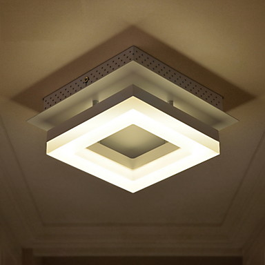 Square Acryle Modern LED ceiling Lamp Light home Lighting Balcony Corridor Living Room Lights Plafonnier Lamparas De Techo simple style ceiling light wooden porch lamp square ceiling lamp modern single head decorative lamp for balcony corridor study