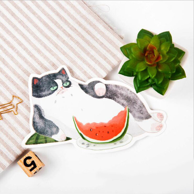 30pcs/lot New cat design postcards Nice Stationry Greeting Cards Calendars Planner & Cards HG046