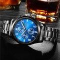 BO-8252 ao ar livre dos homens high-end relógio e relógio de luxo da marca, à prova d' água relógio de quartzo, bolsa de negócios de lazer homens da forma do relógio