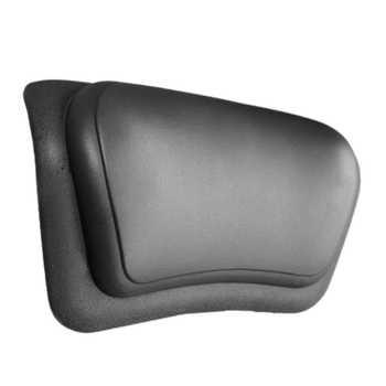 Biggest Discount Spa Bathtub Pillow Soft Massage Pillow Headrest Bathtub Pillow with Backrest Suction Cup Bathroom Supply