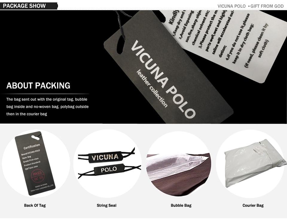 09eff5bb56 VICUNA POLO Classic Plaid Design Business Man Bag Vintage Brand Mens  Messenger Bag Casual Grid Shoulder Bag For Male bolsa Hot
