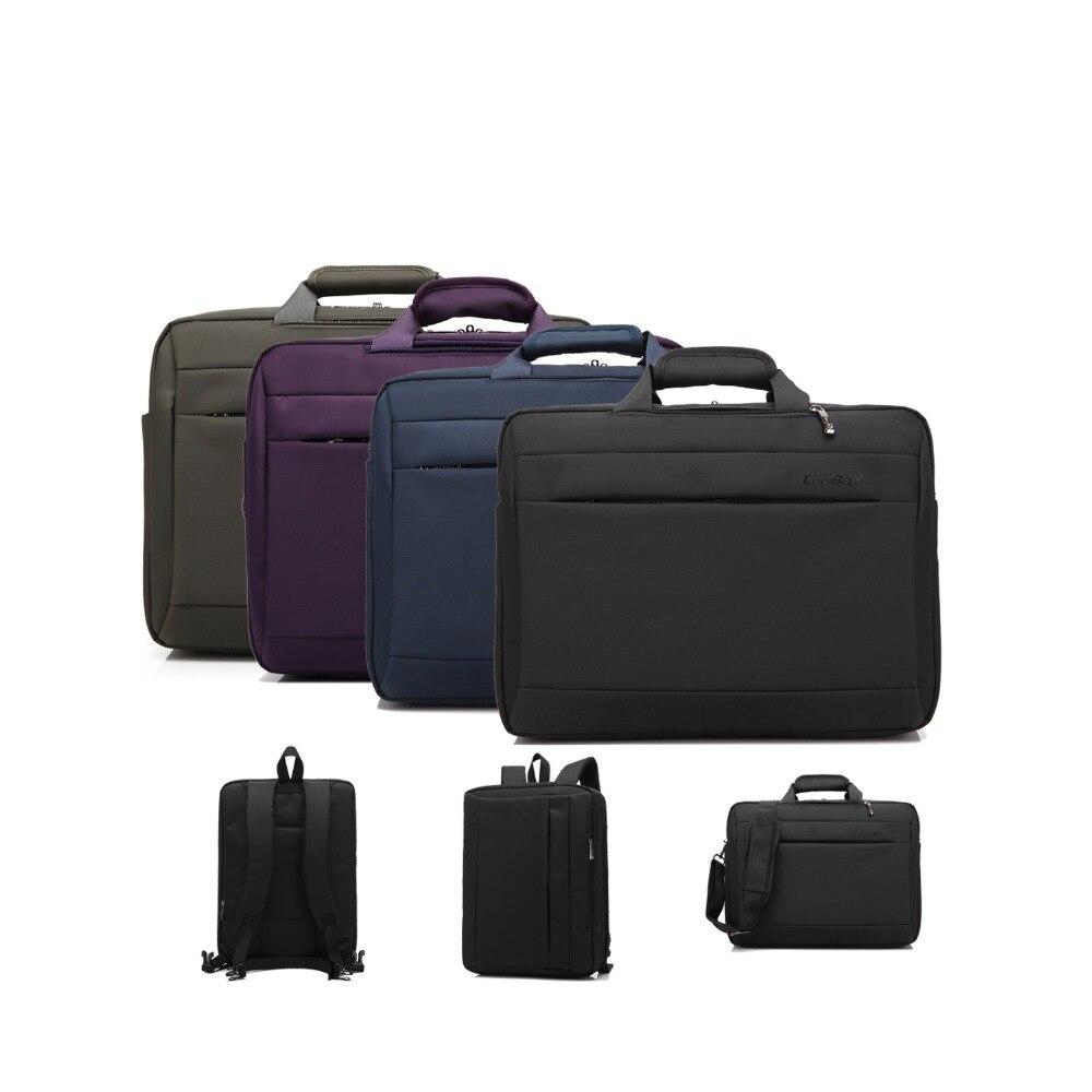 Sacoche pour ordinateur portable multifonction 15.6 pouces sac à main pour ordinateur sac à bandoulière pour Macbook, pour Lenovo, pour HP