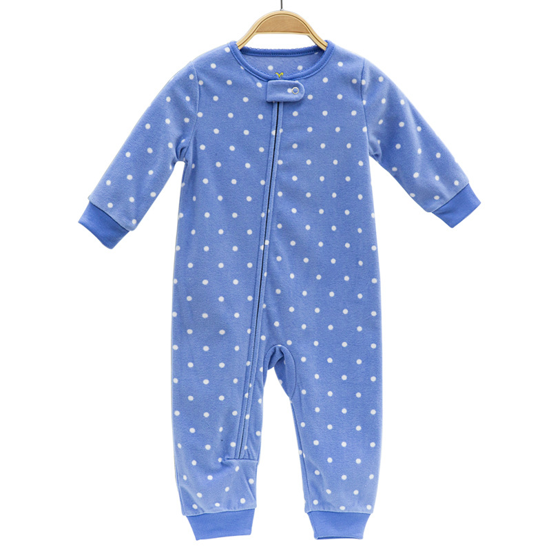 2018 baby clothing Infant girls clothes fleece bebes boys outwear pajamas zipper baby girls overalls pajamas jumpsuit romper paul frank baby boys supper julius fleece hoodie