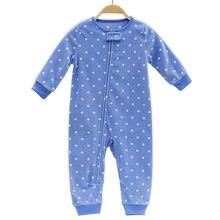 fa77b2fab6c201 2018 dzieci odzież Dla Niemowląt dziewczyny ubrania polar bébés chłopcy  znosić piżamy zamek dziewczynek kombinezony piżamy