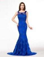 Elegant Long Royal Blue Evening Dresses 2016 Modern Evening Gowns Modest Formal Night Dresses For Women