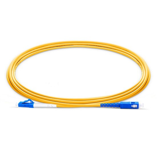 Image 2 - Fiber Optic Patchcord LC UPC to SC UPC Jumper Cable G657A Optical Cord Simplex 2.0mm PVC LC SC Connector FTTH Optic Cable-in Fiber Optic Equipments from Cellphones & Telecommunications