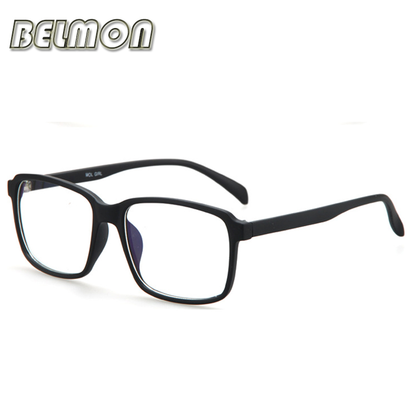 Eyeglasses Frame Men Computer Optisk Brand Spectacle Frame Eye Briller Til Mand Transparent Clear Lens Armacao de RS316