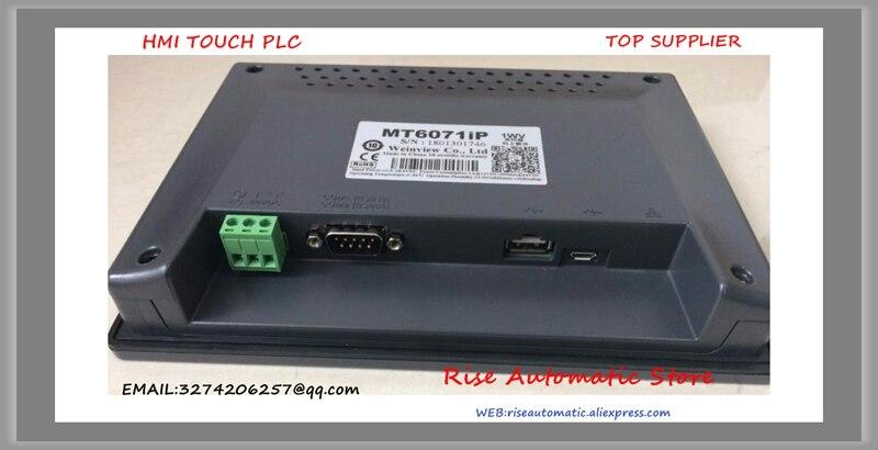 Écran tactile 7 pouces HMI MT6070iH5 MT6070iH 5WV mise à jour à MT6071 MT6071IP 1WV nouveau