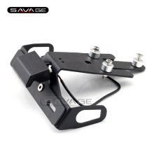 For KAWASAKI ER-6N ER-6F ER6N ER6F NINJA 650R 2012-2015 Motorcycle Tail Tidy Fender Eliminator License Plate Holder LED Light
