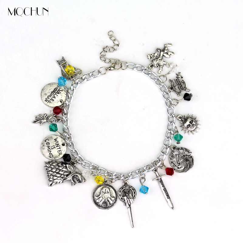 Buy now MQCHUN Game Of Thrones Charm Bracelet