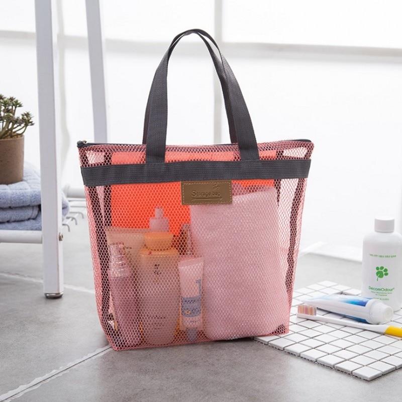 Portable Sport Bag For The Swimming Pool Beach Bath Bas PVC Gridding Dry Bag Travel Tote Gargle Storage Swmming Handbags