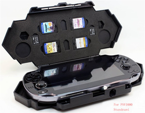 Image 4 - Storage Carry Travel Steel Armor Case for Sony Playstation PS Vita PSV 1000/2000 Game Consoles Shell Cover Accessories