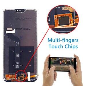 "Image 2 - 5.84 ""LCD תצוגה עבור שיאו mi אדום mi 6 פרו מגע מסך Digitizer עצרת מסגרת זכוכית סרט עבור Xiao mi mi A2 לייט LCD"