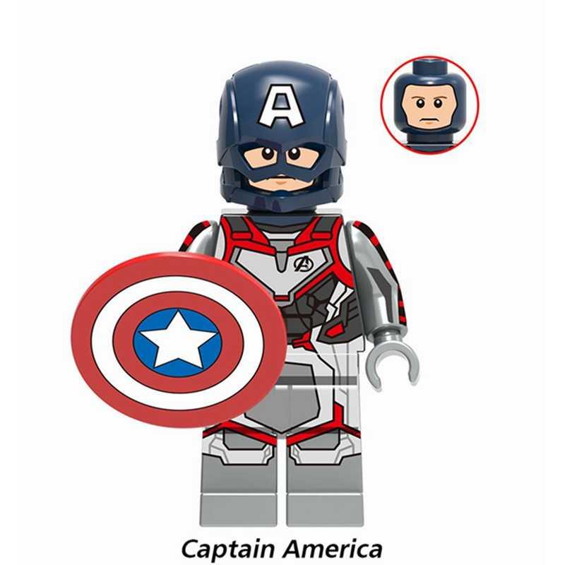 Legoing Thanos Endgame 4 Marvel Os Vingadores Hulk Ironman Thor Building Blocks Brinquedos Para Crianças Figuras de Super Heróis Legoing